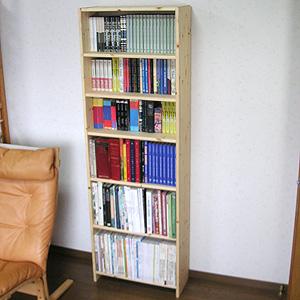 本棚H180xW60xD25cm